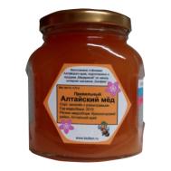 Мёд алтайский василек с разнотравьем фото