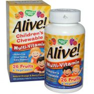 Мультивитамины для детей Nature's Way, Alive! фото