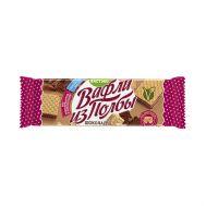 Вафли из полбы Шоколад с тростниковым сахаром фото