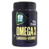 Омега 3 35% с экстрактом ламинарии и витамином Е Fit Parad фото