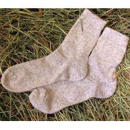 Светлые мужские носки из конопли 43-45 размер фото