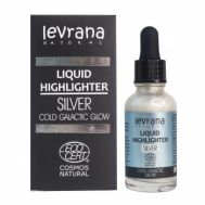Жидкий хайлайтер серебро Levrana фото