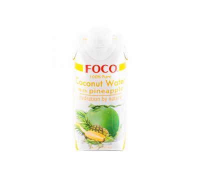 Кокосовая вода с соком ананаса Foco фото