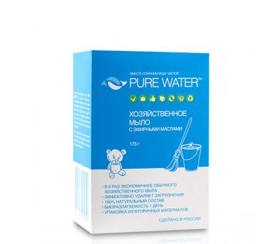 Хозяйственное мыло с эфирными маслами Pure Water фото