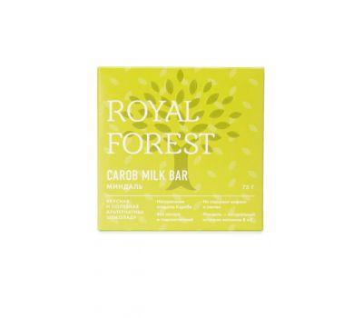 Шоколад из кэроба с миндалем Royal Forest фото
