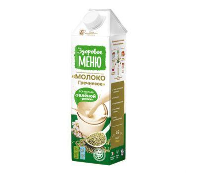 Молоко гречневое Здоровое меню фото