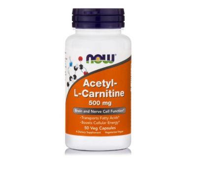 Ацетил-L-Карнитин Now Foods фото
