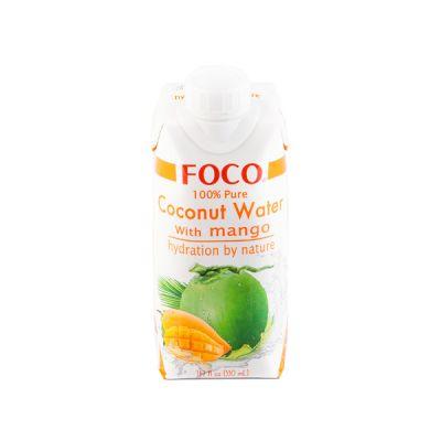 Кокосовая вода с манго Foco фото